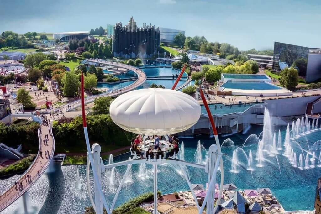 futuroscope amusement parks europe