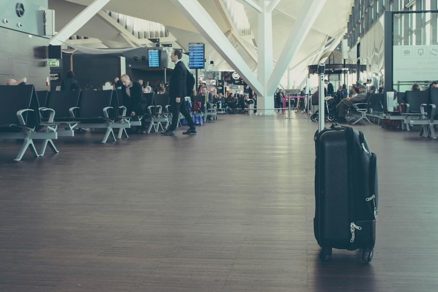 Mala perdida no aeroporto