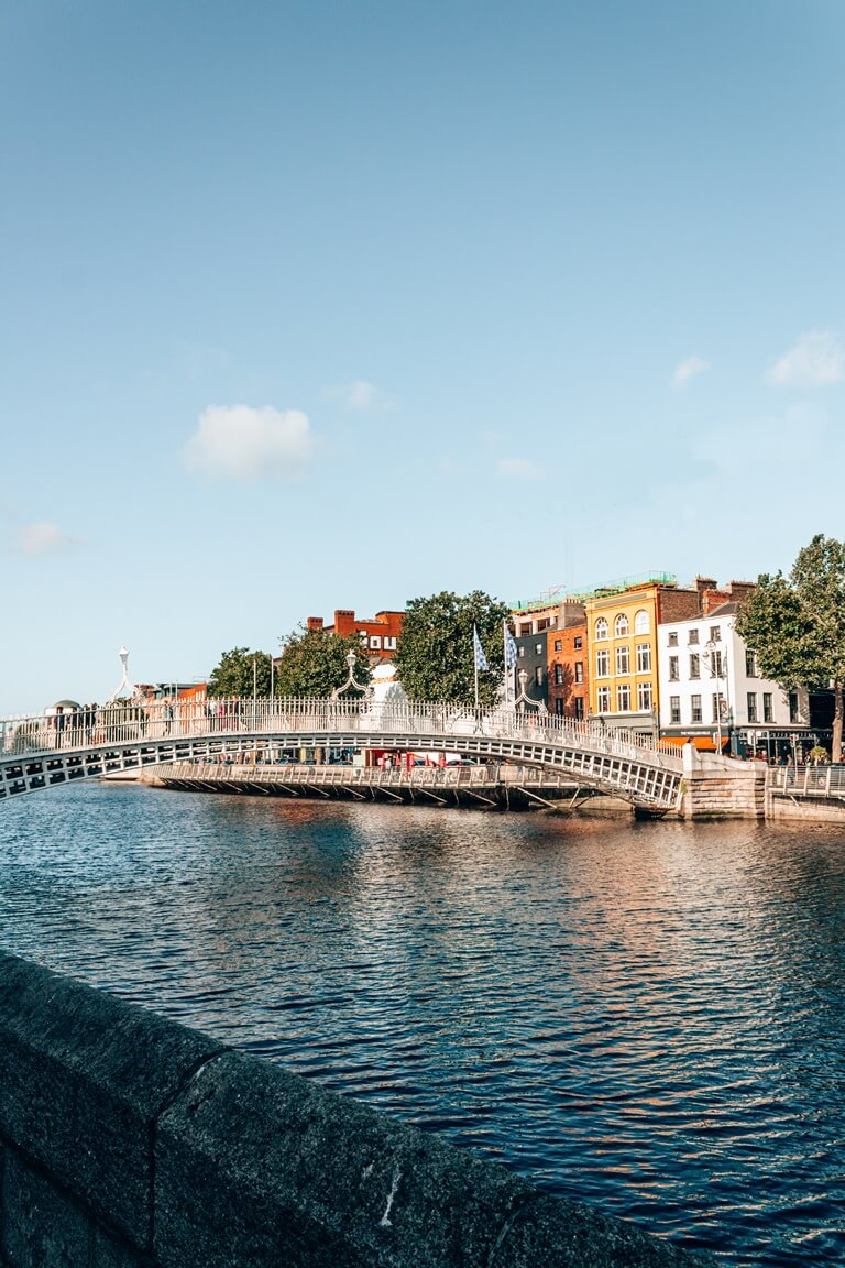 river liffey bridges dublin