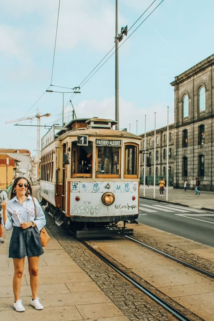instagrammable places in oporto electric cars