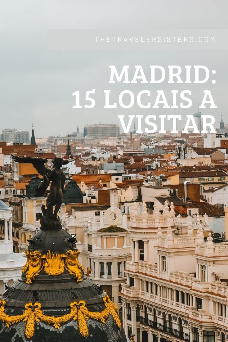 15 locais a visitar em madrid