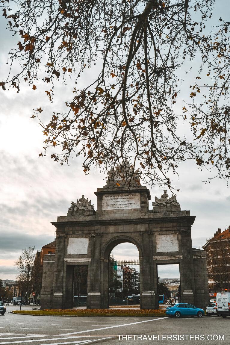 Porta de Toledo locais a visitar em madrid