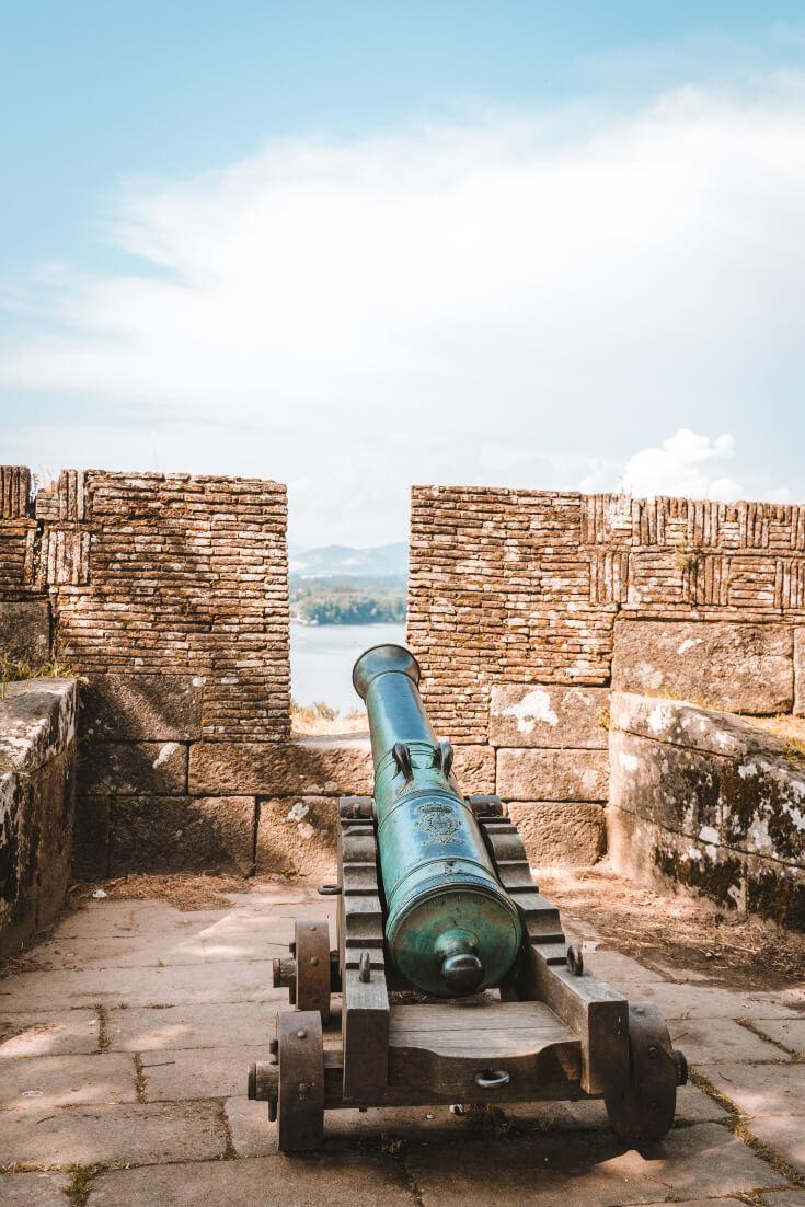valença fortress portugal