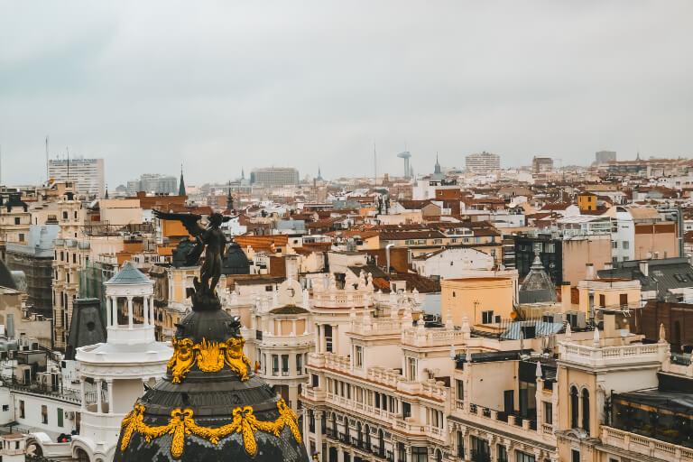 rooftop circulo de bellas artes madrid