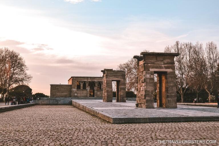 templo de debod locais a visitar em madrid