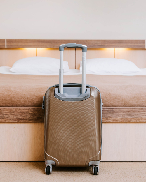Os locais mais sujos dos quartos dos hotéis