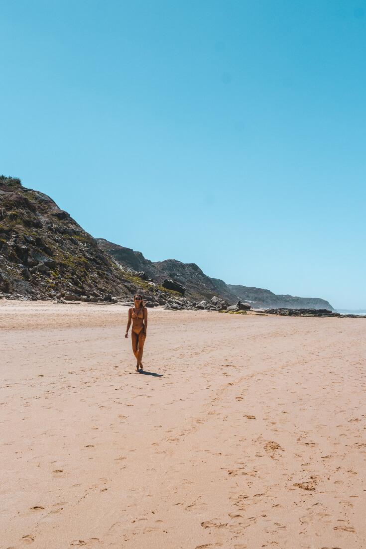 praia da areia branca lourinha