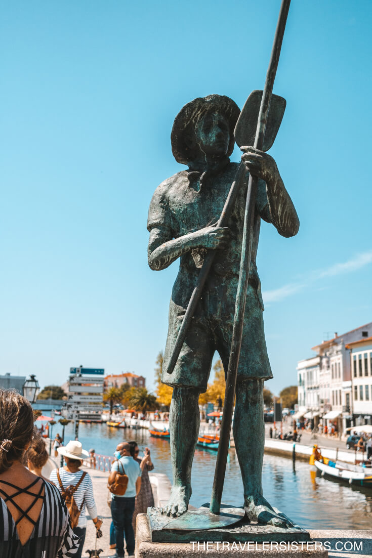 estatuas da ponte aveiro